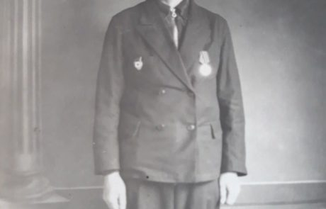 Ахрамович Александр Семёнович 1923 год рождения, инвалид ВОВ.